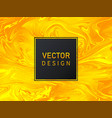 golden background with waves luxury design vector image vector image