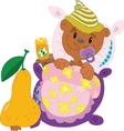 Little bear vector image vector image