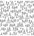 nature travel pattern vector image vector image