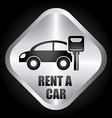 rent car design vector image