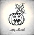 Scary Jack O Lantern vector image vector image