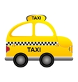 taxi service isolated icon vector image vector image