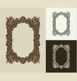 vintage baroque frame scroll ornament