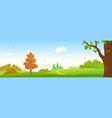 autumn forest banner