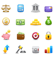 Business and finance money Icons