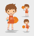 Cartoon of Basketball Player vector image vector image