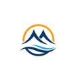 Mountain icon logo
