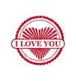 set valentine s day and wedding romantic i love vector image