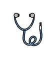 stethoscope icon imag vector image