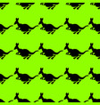 a seamless repeating pattern of cheerful kangaroo vector image vector image
