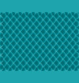 abstract fish squama blue turquoise pattern vector image