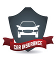 car insurance design vector image vector image
