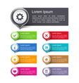 Design Elements with Icons vector image vector image