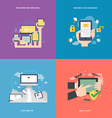 element of mobile technology concept icon in flat vector image vector image