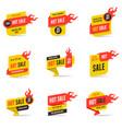 Hot sale banners design templates set