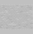 modern white blank brick wall vector image