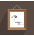 picture frame arts vector image