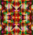 Seamless pattern hippie abstract tie dye rorschach vector image