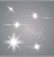 set light effects vector image