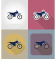 transport flat icons 66 vector image vector image
