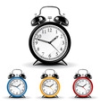vector alarm clock vector image