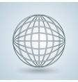 sphere icon design vector image