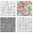 100 audio icons set variant
