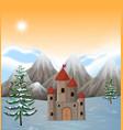 A castle tower scene