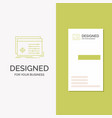 business logo for file object processing settings vector image vector image