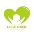 children logo and icon design vector image