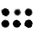 circular stamp set vector image vector image