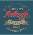 New york authentic brooklyn