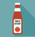 tomato ketchup icon vector image vector image