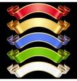 ribbons set vector image