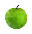 an apple vector image
