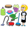 cleaning collection 1 vector image