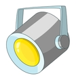 Floodlight icon cartoon style