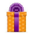 gift box 08 vector image vector image