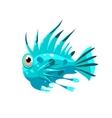 Prickly Fish vector image vector image