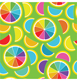 Rainbow lemon seamless background
