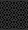 seamless black grid pattern vector image vector image