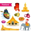 Thailand Travel Set vector image