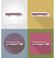 transport flat icons 68 vector image vector image