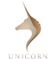 Unicorn Emblem vector image