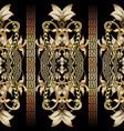 baroque seamless 3d borders pattern damask