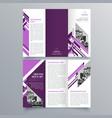 brochure design 788 vector image vector image