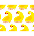 Chicken farm seamless pattern background of vector image vector image