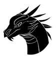 dragon avatar vector image
