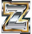 Fancy font Letter Z vector image vector image