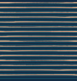 luxurious gold rich blue striped horizontal vector image